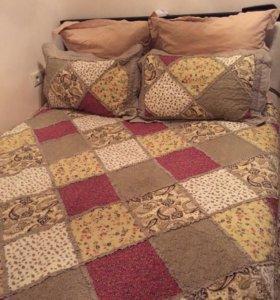 Кровать с подъёмным механизмом +матрас новый