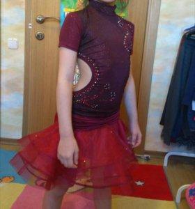 Платье для спортивно-бальный танцев