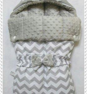 Конверт, одеяло, бортики