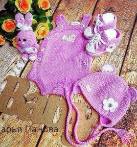 Подарочные комплекты для новорожленных.
