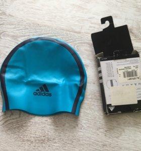 Детская Шапочка для бассейна Adidas новая