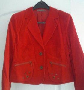 Пиджак красный (костюм)