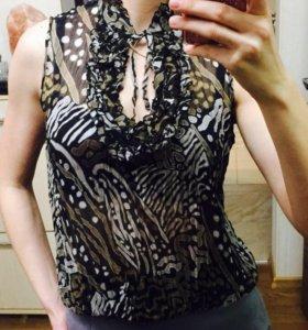 Блузка нарядная шифон