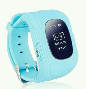 Детские умные часы Baby Watch Q50, голубые