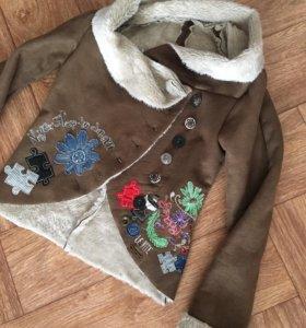 Куртка под дублёнку