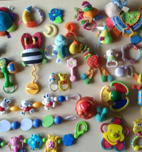 28 игрушек 0+