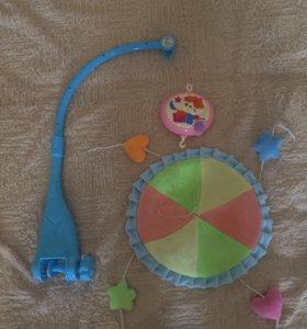 Мобиль (с музыкой), без игрушек