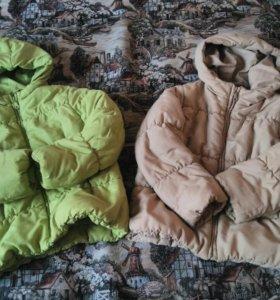 Детские курточки на 5-6 лет