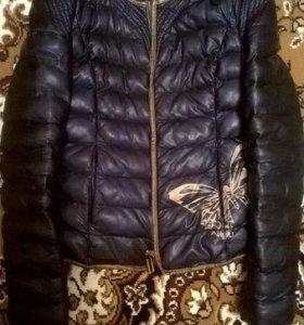 Куртка кожаная 46 размер