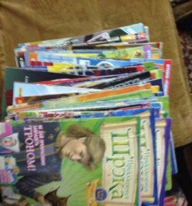 Журналы (комиксы, головоломки)