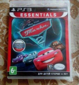 Игра на PS3 тачки лицензия