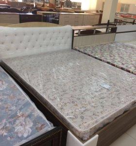 Кровать с подъёмным механизмом + матрац