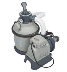 Песочный насос-фильтр intex 4000л/ч