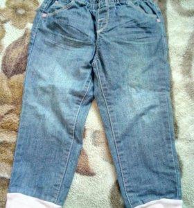 Тонкие джинсовые штанишки б/у