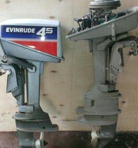 Лодочные моторы 4.5 Evinrud