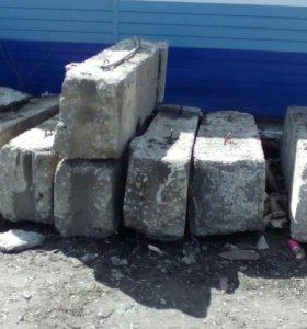 Блок фундаментный б/у 400мм