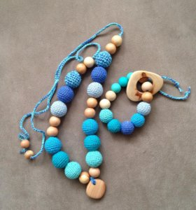 Комплект Слингобусы и браслет