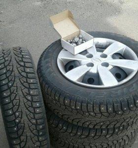 Комплект колес KIA RIO