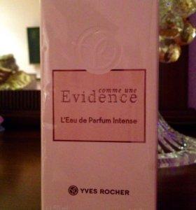 Парфюмерная вода Evidence Intense Yves Rocher 50ml