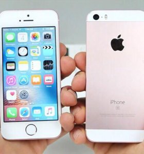 iPhone 5se, 16gb, rose