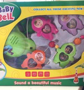 Музыкальный мобиль на кроватку новый