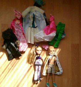 Куколки мальчик и девочка