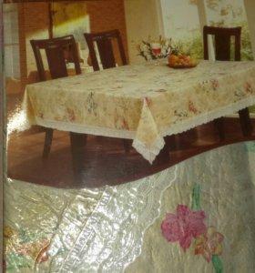 Скатерть,шелкография на текстильной основе