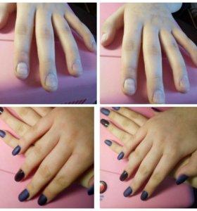 Наращивание и дизайн ногтей!