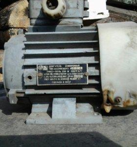 Электродвигатель 250вт, 3000 оборотов