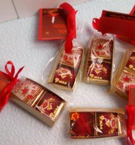 Сладкие пеналы с конфетами