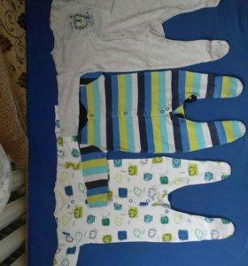8 Комбинезонов mothercare и др. 56-62