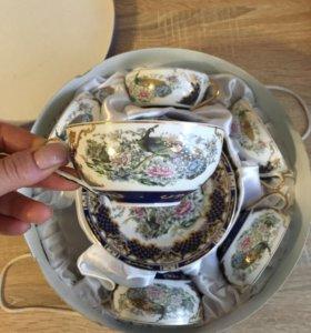 Чайный сервиз 6 персон НОВЫЙ
