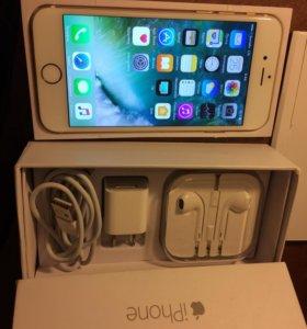 iPhone 6 ,64gb gold
