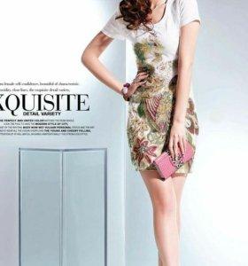 Платье или туника новое, с вышивкой