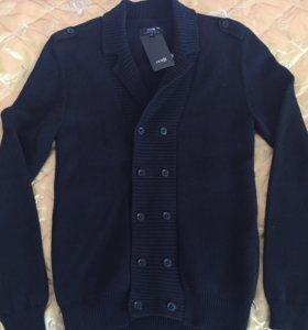 Стильный пиджак и тёплый кардиган