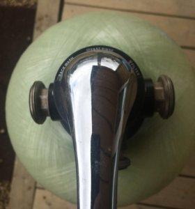 Фильтр умягчитель с ручным клапаном
