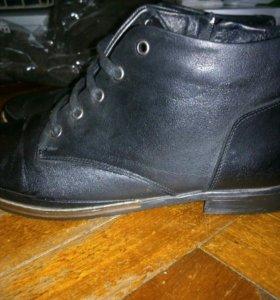 Демисезонные ботинки 38