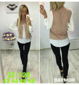 Блуза-обманка
