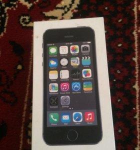 Каробка от iPhone 5s