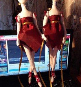 Куклы-держатели для штор