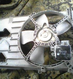 Вентелятор двигателя цедия