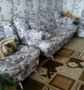 Мягкая мебель состояние отличное само вывоз