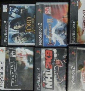 Диски к приставке PlayStation 2