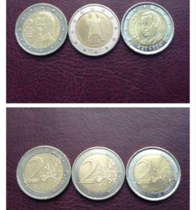 Монеты объединённой Европы, ч.1