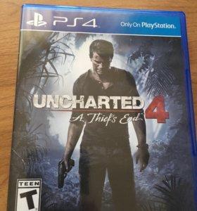 Продам/Обменяю игру Uncharted 4 на PS4