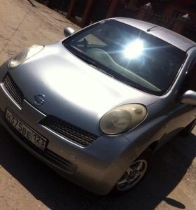 Nissan march 2003года