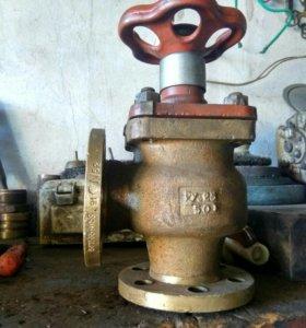 Клапан невозвратный угловой Ду50 бронза