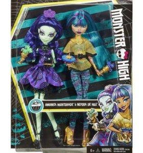 Monster High Нефера и Аманита (Mattel DMD73) новые
