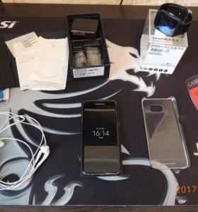 Продам Samsung Galaxy s7 edge+SonySmartWatch3swr50