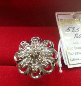 Кольцо бриллиантовый